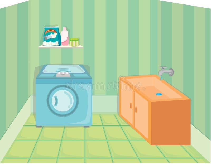 Download Home appliances stock vector. Image of detergent, water - 15015282
