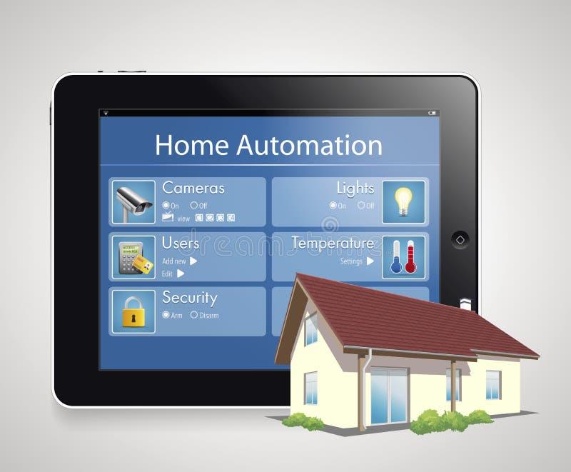 Home automation 4 stock illustration