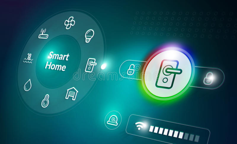Home Automation System vector illustration