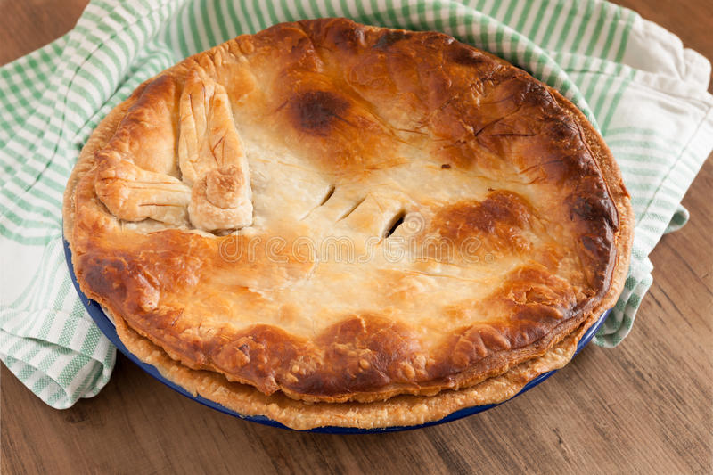 Home Baked Pie royalty free stock photos