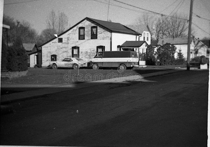 Home in Bellville in 1970's stock image