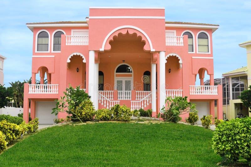 HOME bonita do Indian do leste foto de stock