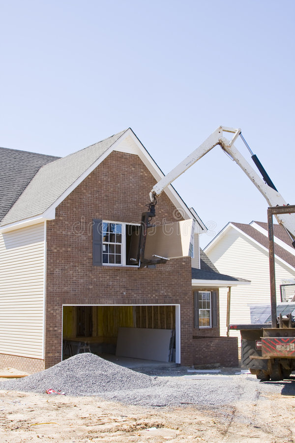 Home Builders royalty free stock photos