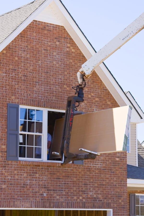 Home Builders stock photo