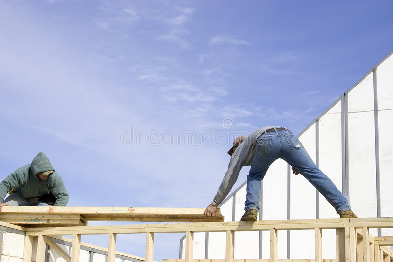 Home Building 6 royalty free stock image