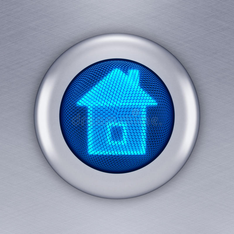 Home Button Stock Images