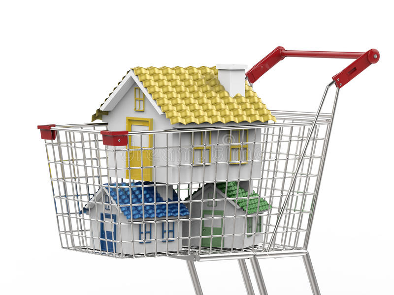 Home buyer concept royalty free stock image