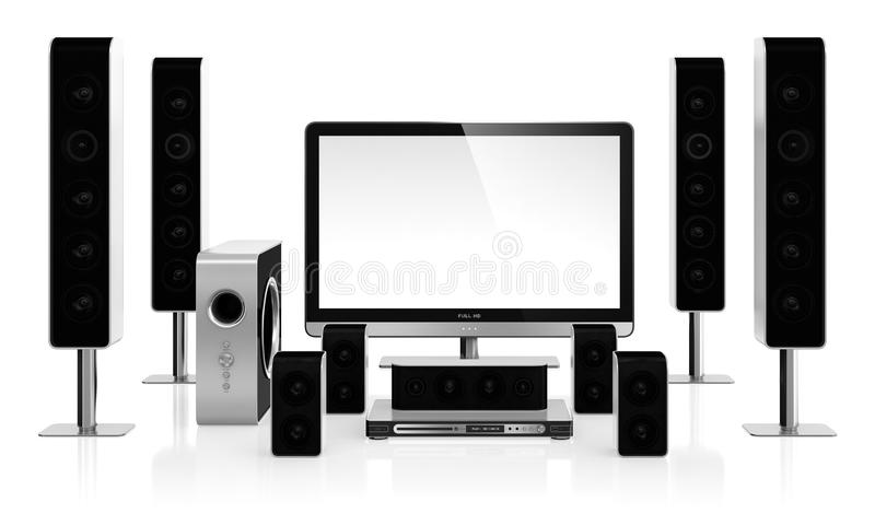Download Home Cinema Royalty Free Stock Photography - Image: 28730427