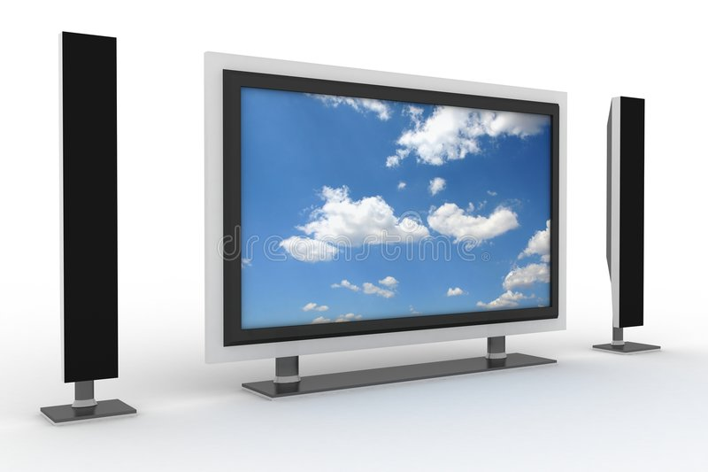 Download Home Cinema Stock Photography - Image: 4268132