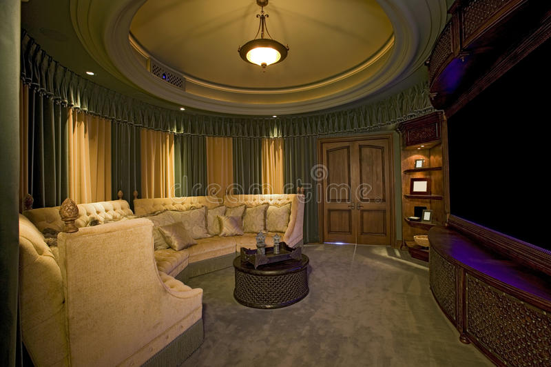 Home Cinema Room stock images