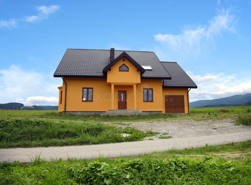 HOME clássica moderna nova, Poland fotografia de stock royalty free