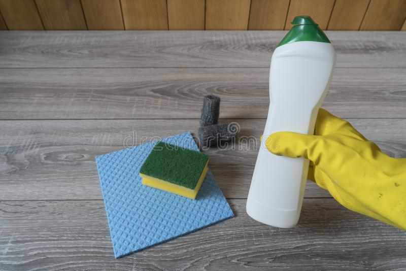 Home cleaning stock images