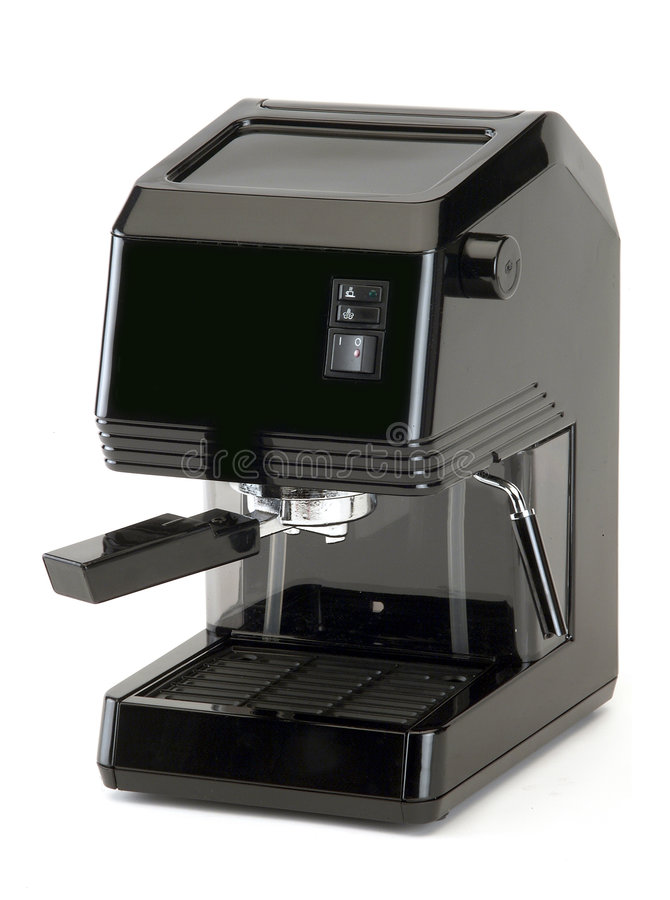 Home coffee maker royalty free stock photography