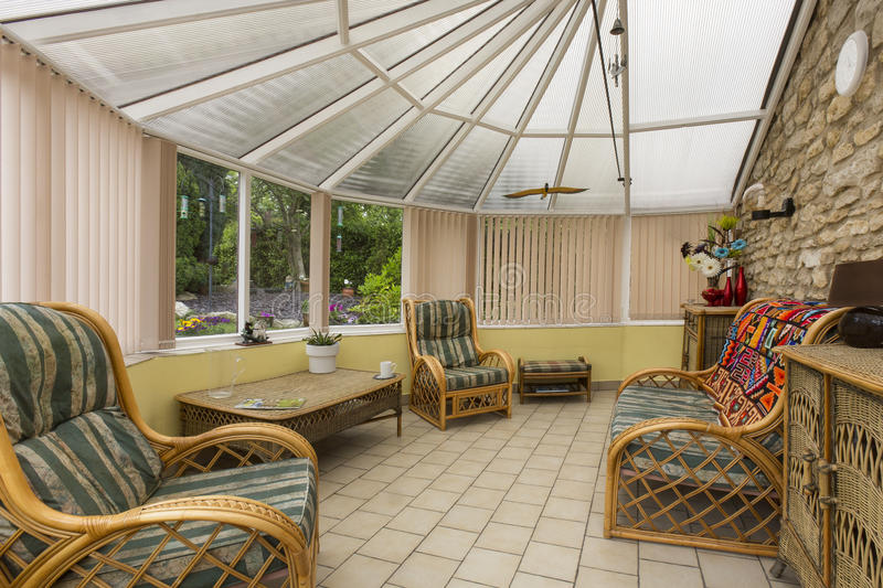Download Home Conservatory stock image. Image of outdoors, houses - 31499467
