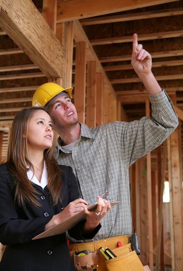 Home Construction royalty free stock photos