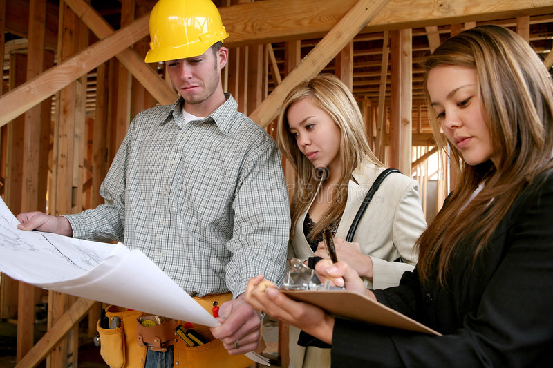 Home Construction stock image