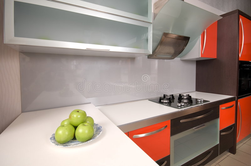 Download Home cookery furniture. stock photo. Image of boxes, family - 7379452