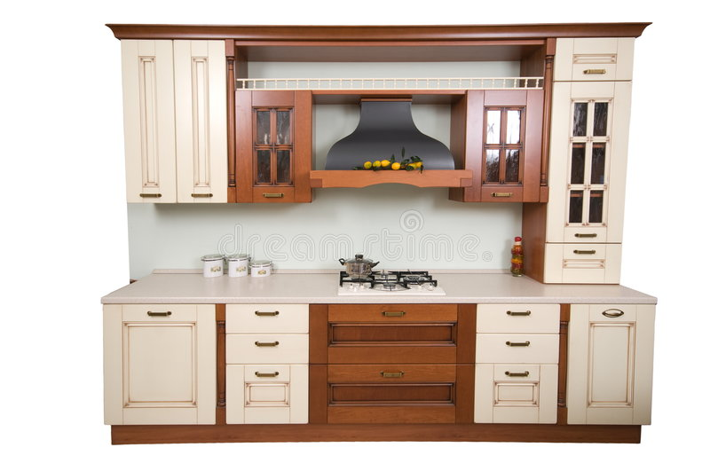 Download Home cookery furniture. stock photo. Image of interior - 7379688