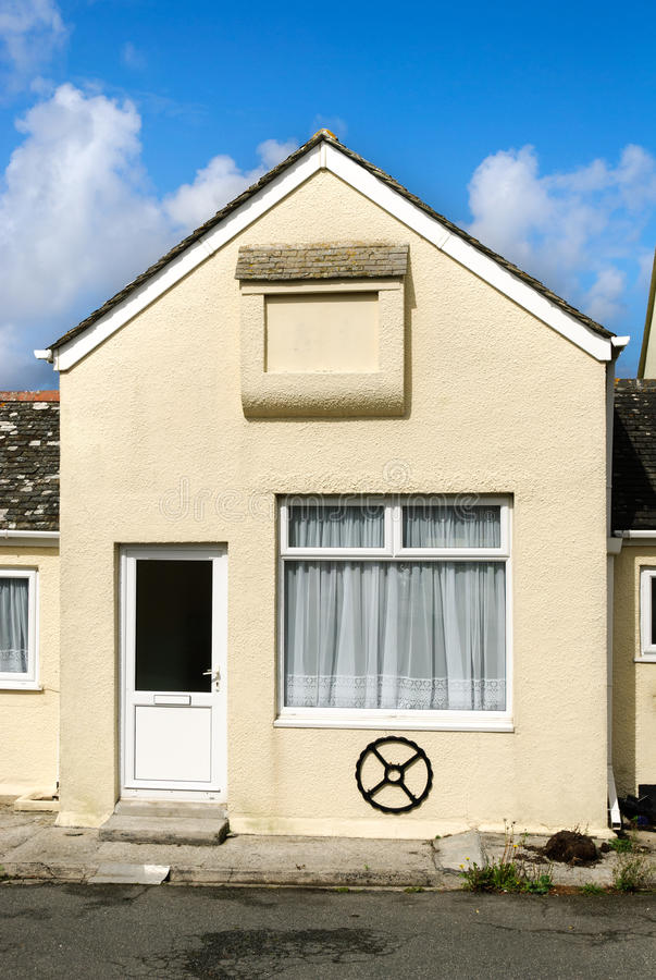 Download Home in Cornwall stock photo. Image of window, wheel - 23670866