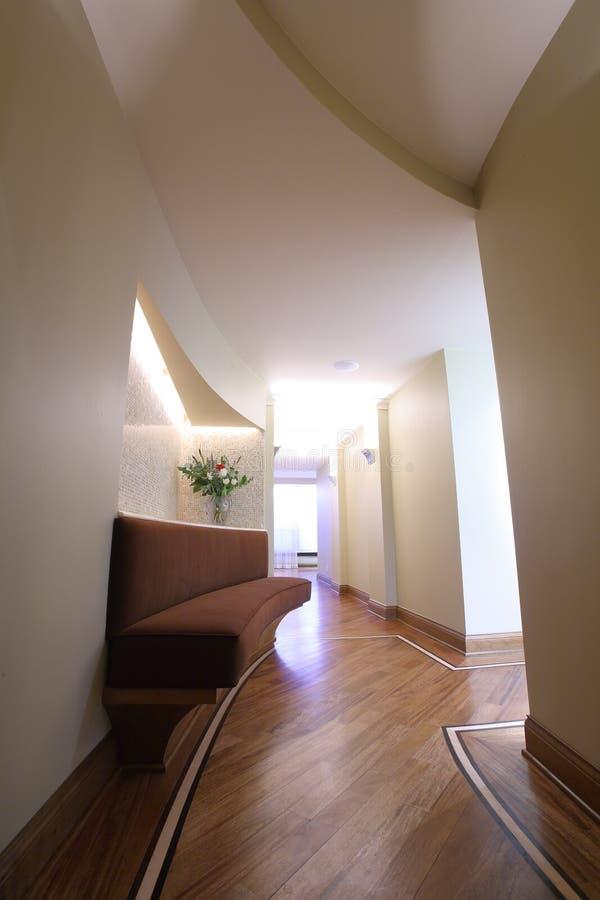 Home corridor stock photography