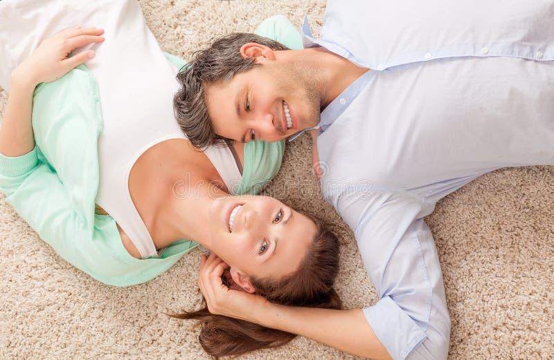 Home couple stock photos