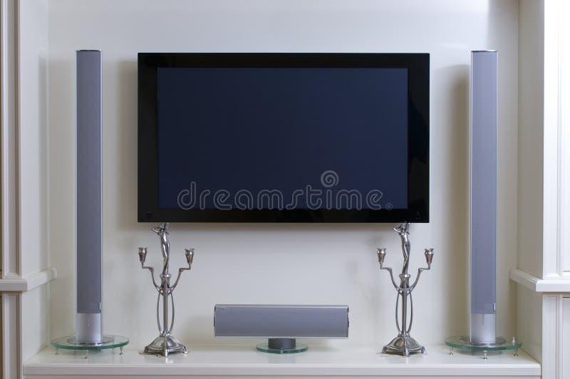 Home cynema system royalty free stock photo