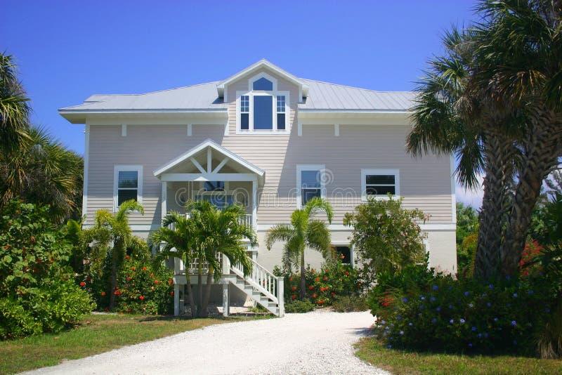 HOME da praia fotos de stock royalty free