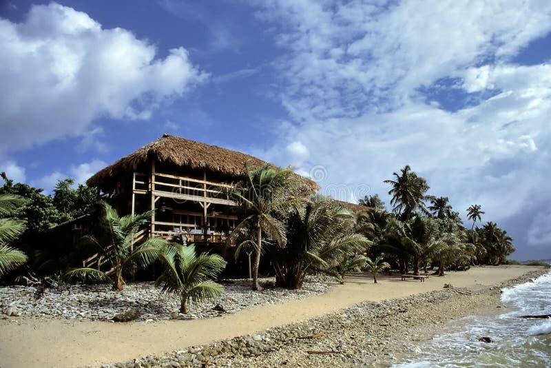 HOME De Crusoe Imagem de Stock