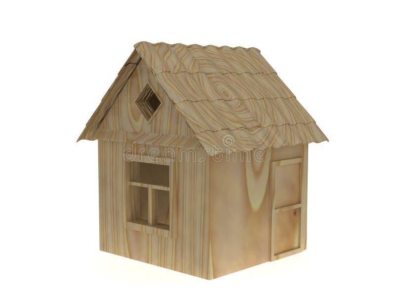 HOME de madeira imagens de stock royalty free