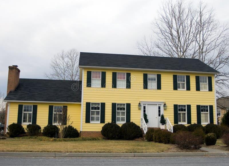 HOME de Virgínia imagem de stock