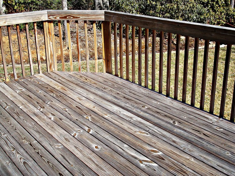 Home Decking stock photography