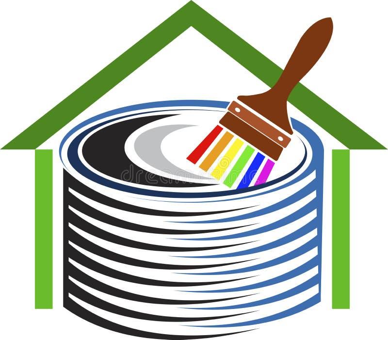 Home decor logo stock illustration