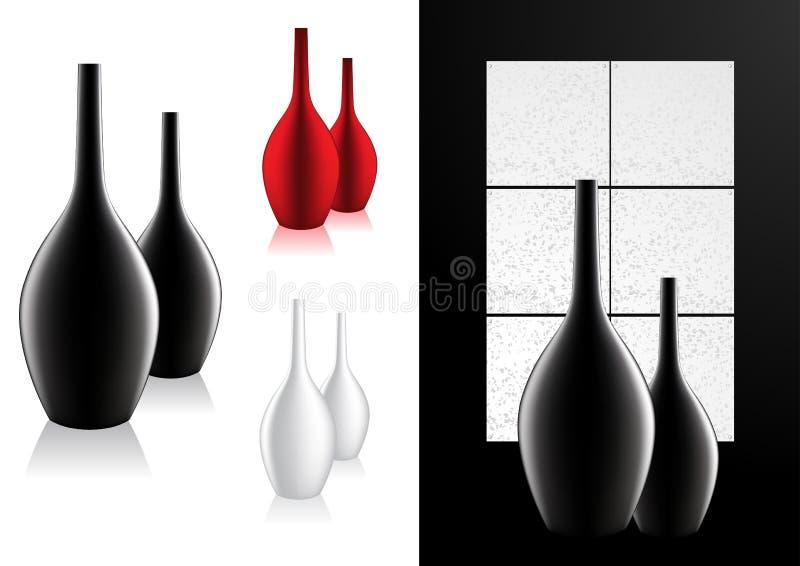 Download Home Decor Modern Vase Vector Stock Vector - Illustration: 19400873