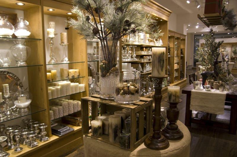 Luxury Home Decor Stores: Home Decor Store Stock Photo. Image Of Lighting, Shelves