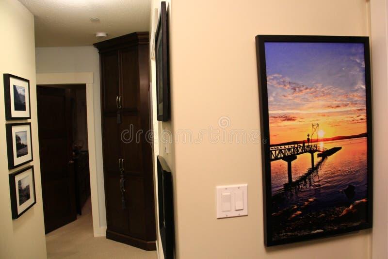 Home Decoration With Art, Showpiece, Modern Furniture Stock Photo ...