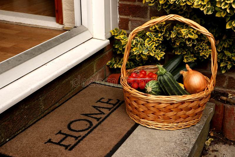 Home Delivery royalty free stock photography
