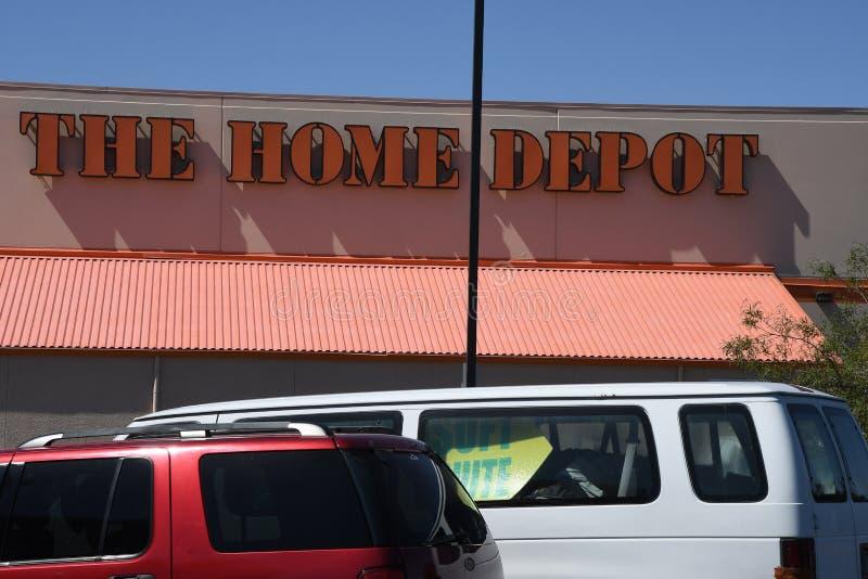 Home Depot fotografia stock