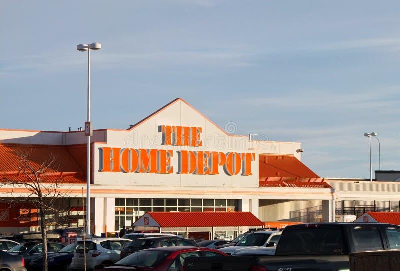 Home Depot foto de archivo libre de regalías