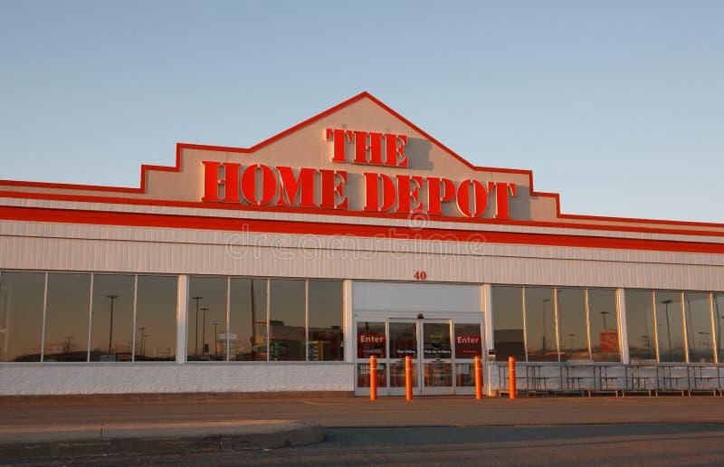 Home Depot royalty-vrije stock foto's