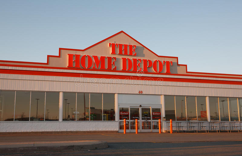 Home Depot fotografie stock libere da diritti