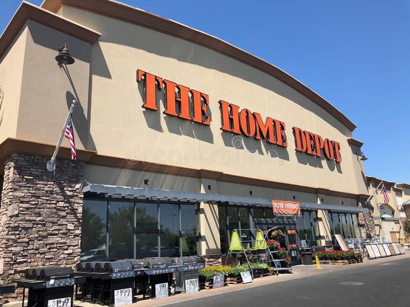 Home Depot Home Improvement Store royalty free stock photos