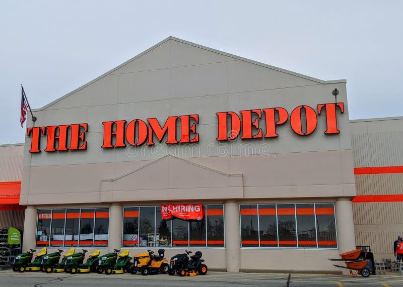 Home Depot immagazzina immagine stock