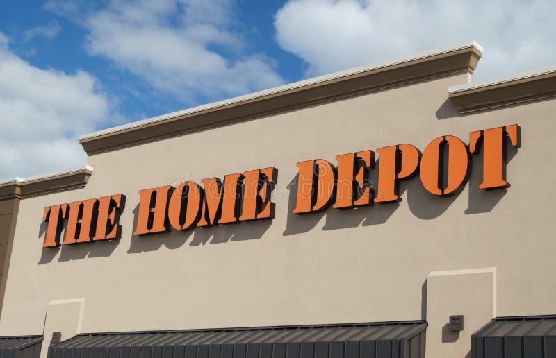 Home Depot immagazzina fotografia stock libera da diritti