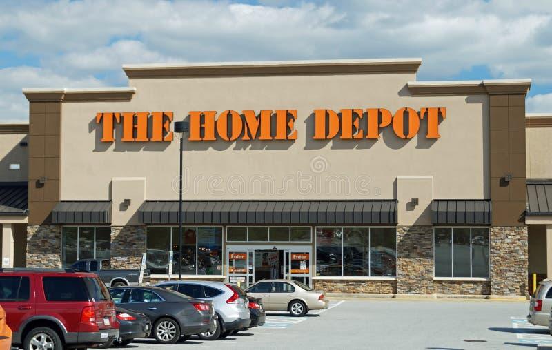 Home Depot immagazzina fotografia stock