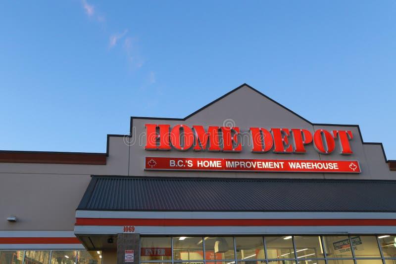 Home Depot immagini stock