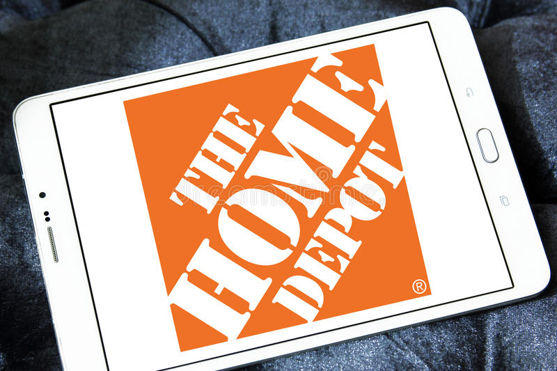 The home depot logo editorial photography  Image of american