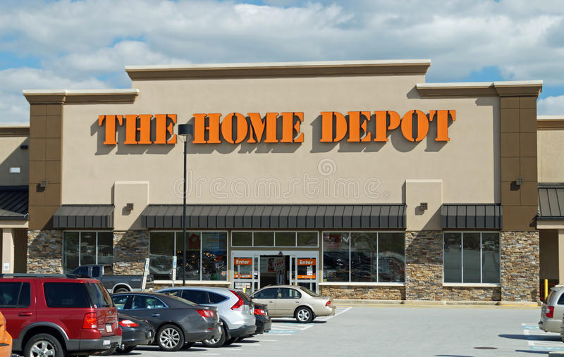 Home Depot stockent photographie stock