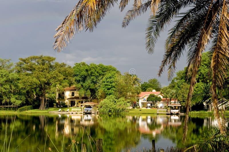 HOME do beira-rio imagem de stock royalty free