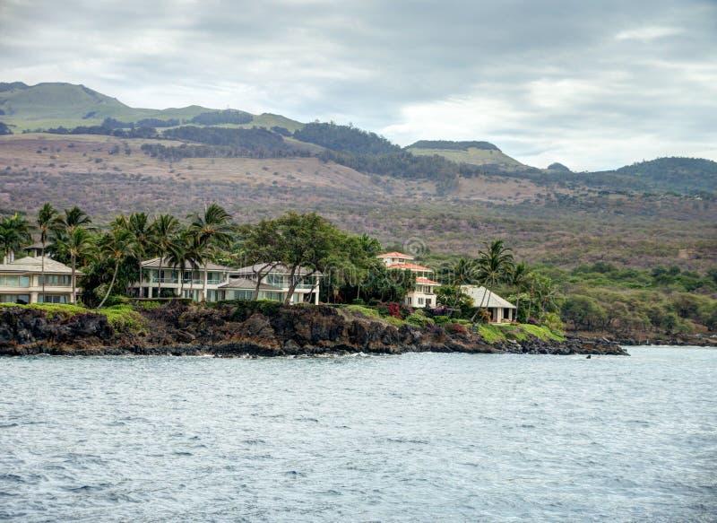 HOME do beira-rio de Maui fotos de stock