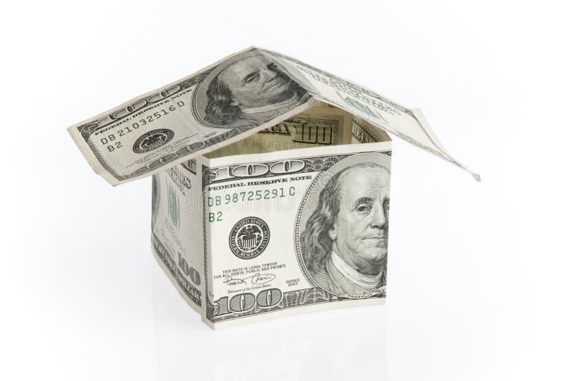 HOME Do Dólar Foto de Stock Royalty Free